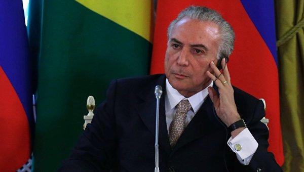 WikiLeaks: и. о. президента Бразилии предоставлял информацию ведомствам США
