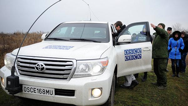 Басурин считает абсурдным заявление о вооружении миссии ОБСЕ