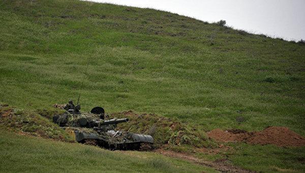 Минобороны НКР заявило о тяжелом ранении своего военного в ночь на субботу