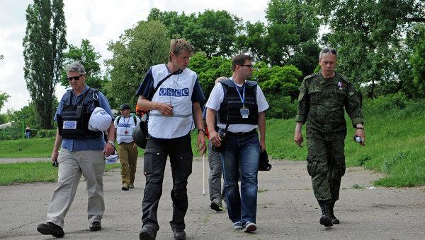 Басурин: заменить СММ ОБСЕ можно только по решению