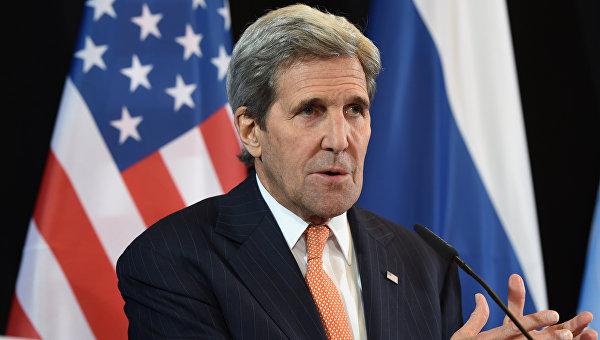 Керри обсудил с королем Саудовской Аравии конфликты в Сирии, Ливии и Йемене