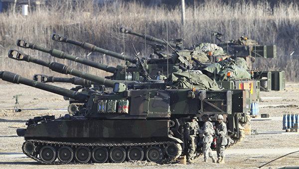 Южная Корея, США и Япония проведут совместные учения