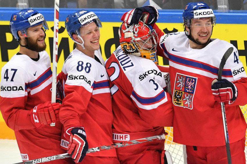 Сборная Чехии сыграет с США в четвертьфинале ЧМ-2016
