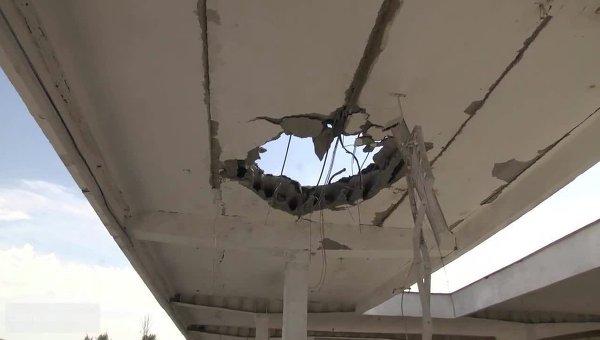 В Луганске закончили реконструкцию разрушенного во время боев автовокзала
