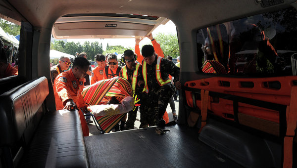 При взрыве гранаты на юге Филиппин пострадали семь солдат