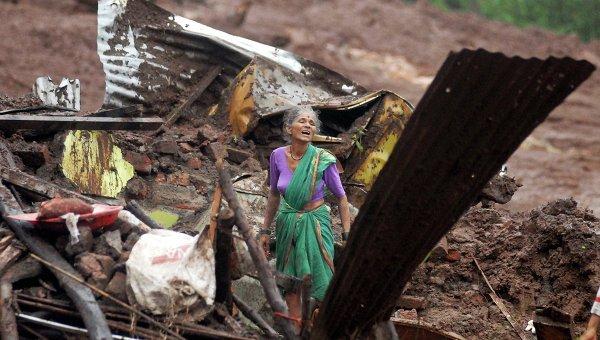 Не менее 10 человек стали жертвами оползней в индийском штате Ассам