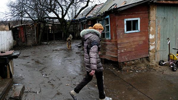 В ДНР заявляют, что поселок Зайцево в пригороде Горловки подвергся обстрелу