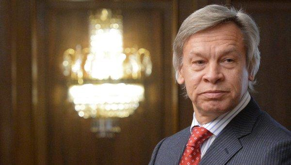 Пушков: РФ поддерживает проект ПА ОБСЕ о снятии санкций с парламентариев