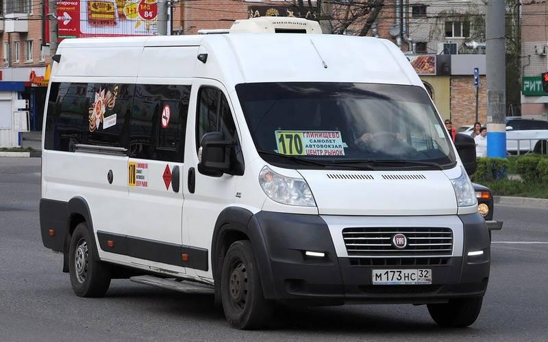 В работе брянских маршруток №170 и164 нашли многочисленные нарушения