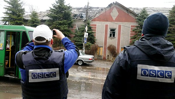 Миссия ОБСЕ на Украине назвала места наибольшей напряженности в ЛНР