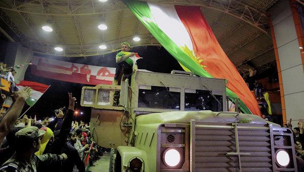 ПСК: курдская пешмерга освободила от ИГ 40 тысяч квадратных километров
