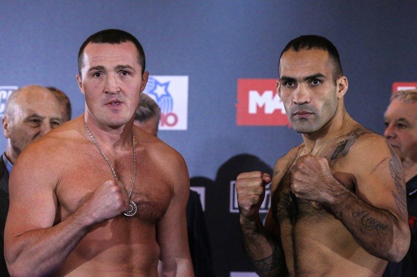 Онлайн-трансляция боксерского боя Лебедев - Рамирес