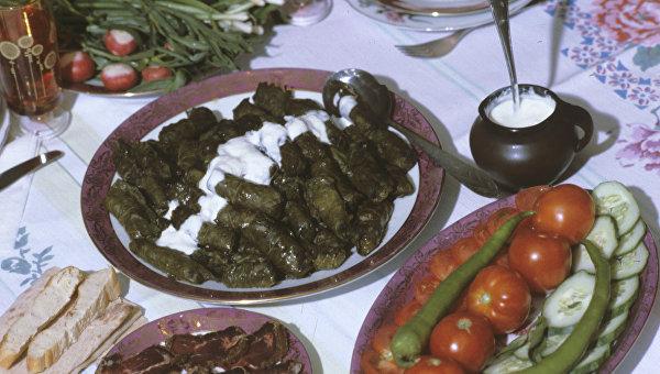 В Армении пройдет фестиваль толмы