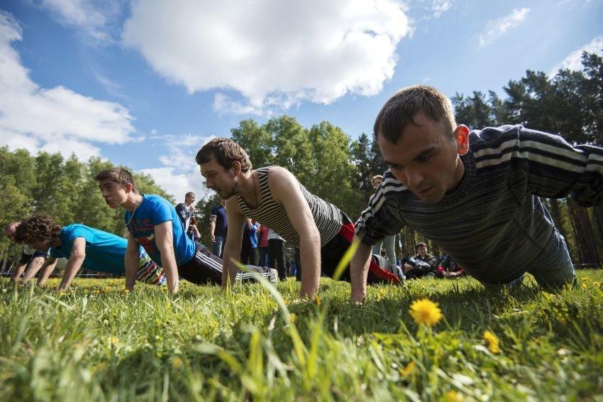 В Хабаровске на фестивале комплекса ГТО установлен рекорд по отжиманиям