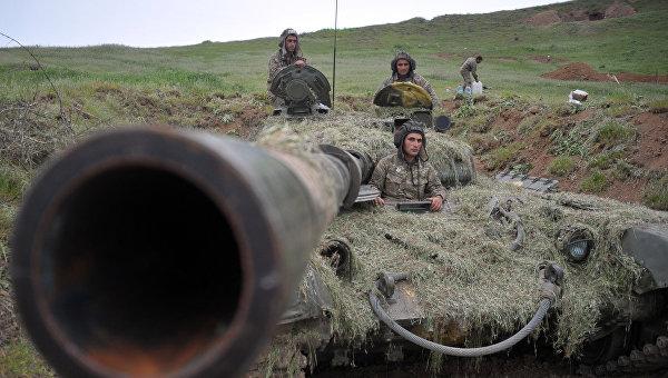 Минобороны Армении: ночью на границе с Азербайджаном было спокойно