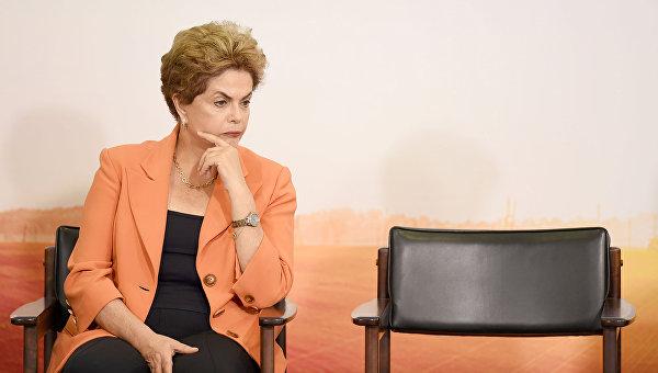 Бразильские СМИ раскрыли подробности организации импичмента Роуссефф