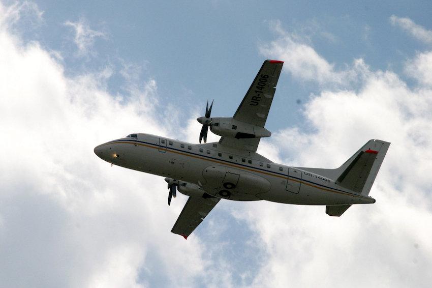ВМФ России пополнился очередным самолетом Ан-140