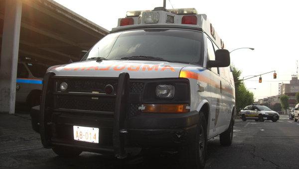 В Мексике около 40 человек ранены в ДТП с автобусом