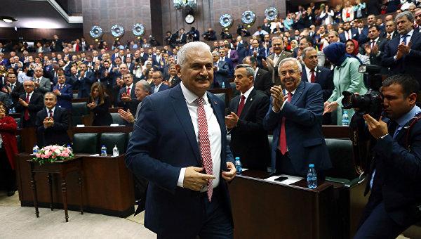 Новый премьер Турции заявил о продолжении курса на борьбу с терроризмом