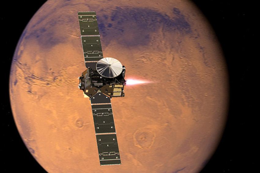 Астрофизики установили природу загадочного облака на Марсе