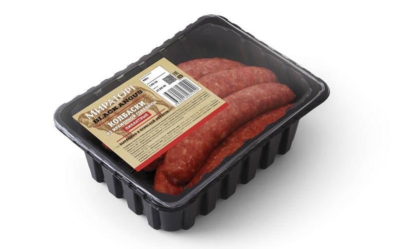 Мираторг запустил новую линейку охлажденных говяжьих колбасок внатуральной оболочке