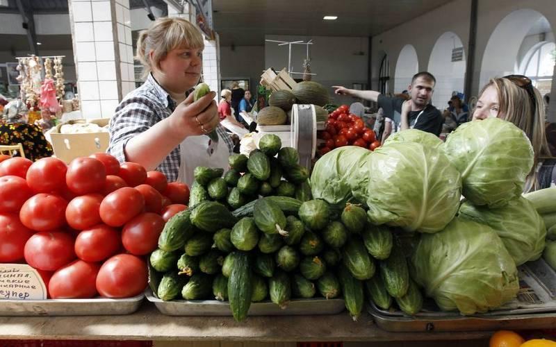 За неделю вБрянске помидоры подешевели на20%, аогурцы — на13%