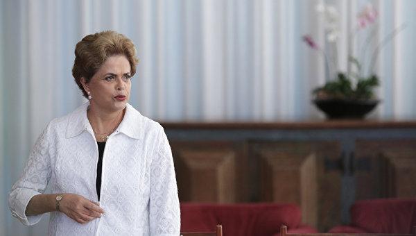 Роуссефф: расследование коррупции в Petrobras послужило причиной импичмента