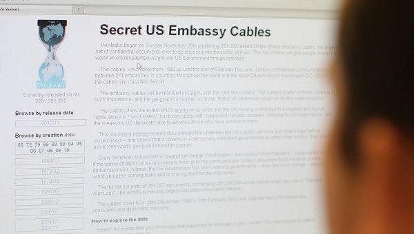 WikiLeaks опубликовал секретные документы по Договору о торговле услугами