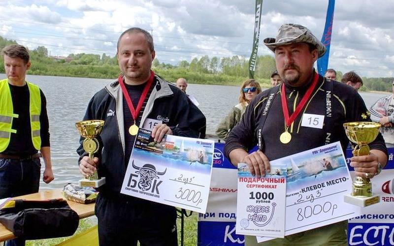 Улов победителей брянского рыболовного турнира превысил 3,7 килограмма
