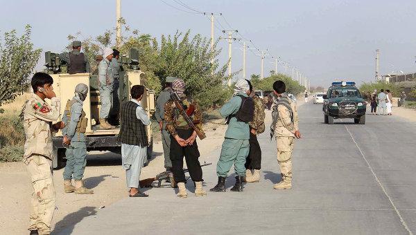 В ходе столкновения с афганскими военными убиты более 40 боевиков