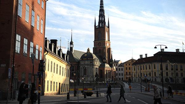 В Стокгольме началась церемония крещения сына шведской кронпринцессы