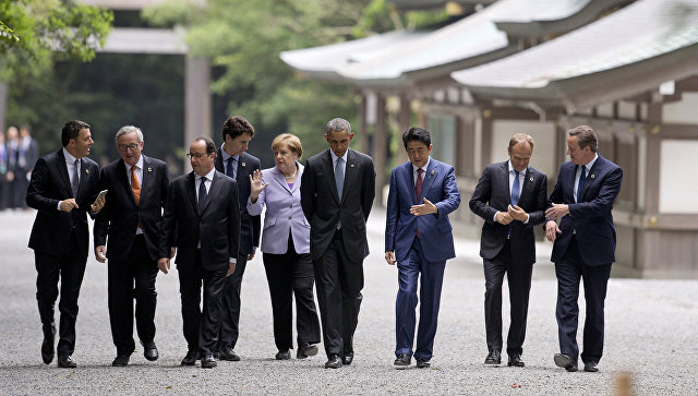 Лидеры G7 будут взаимодействовать по вопросу экстрадиции коррупционеров