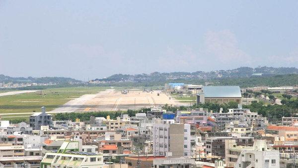 На Окинаве ввели комендантский час для сотрудников военных баз США