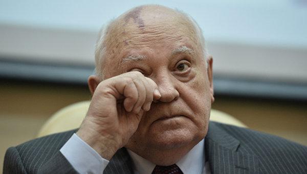 В Кремле сожалеют о запрете Горбачеву на въезд на Украину