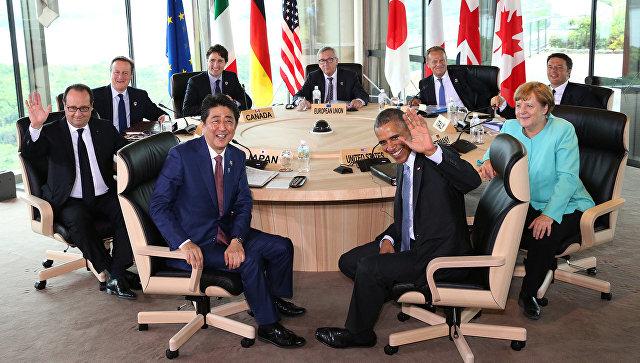 Пушков высмеял продуктивность встречи G7 в Японии
