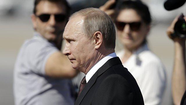 Путин прибыл на Афон