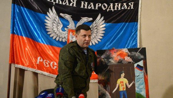Захарченко: нахождение вооруженных миссий на территории ДНР неприемлемо