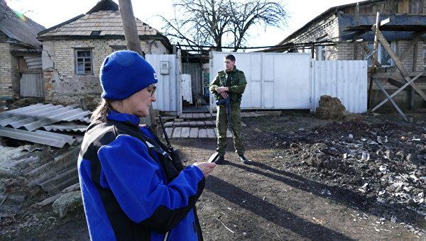 Разведка ДНР: спецслужбы Украины следят за наблюдателями ОБСЕ