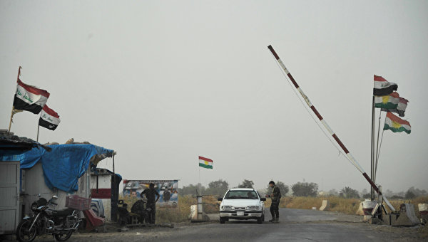 Курдские отряды начали масштабное наступление на позиции ИГ у Мосула