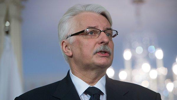 Глава МИД Польши намерен обсудить с Могерини сотрудничество ЕС с Россией