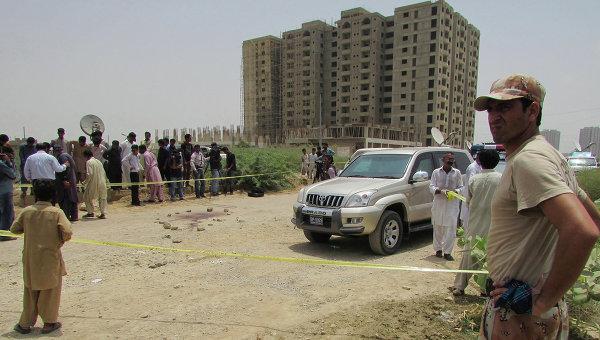 Гражданин Китая пострадал в результате взрыва в пакистанском Карачи