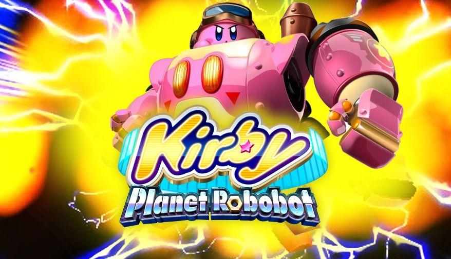 Обзор игры Kirby: Planet Robobot