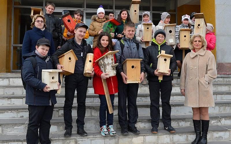 Заповедник «Брянский лес» наградит лучших создателей домиков дляпернатых