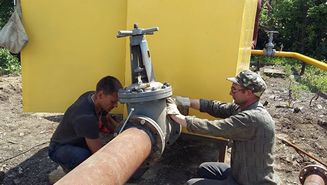 Наблюдатели ОБСЕ сообщили, что в Марьинке проложили 70 метров газопровода