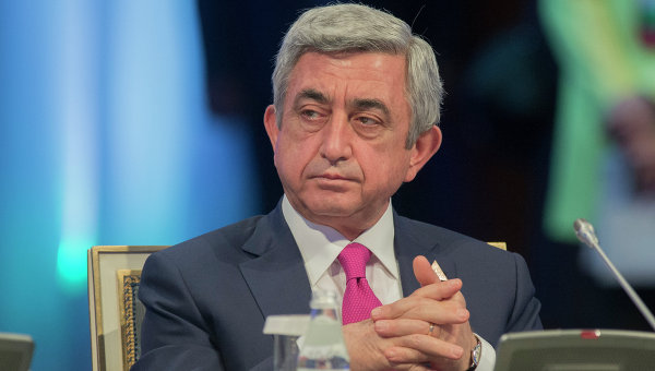 Саргсян поблагодарил немецких политиков за признание геноцида армян
