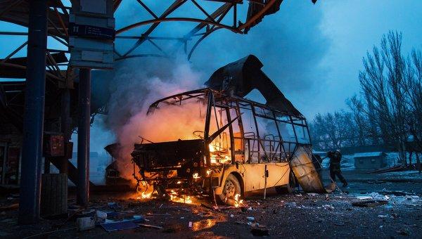 Пять пожаров произошло в ДНР из-за обстрелов за неделю – МЧС