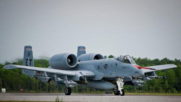 Американские штурмовики A-10 совершат учебные полеты в Латвии