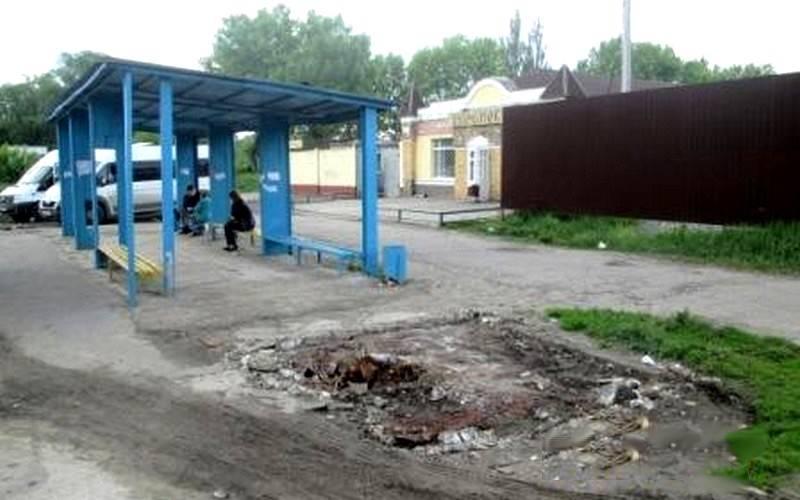 ВБрянске началось благоустройство остановочного комплекса «Бульвар Щорса»