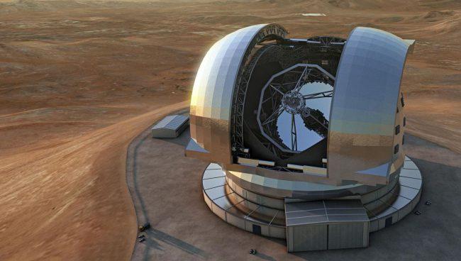 #видео дня   Как будет выглядеть крупнейший в мире телескоп