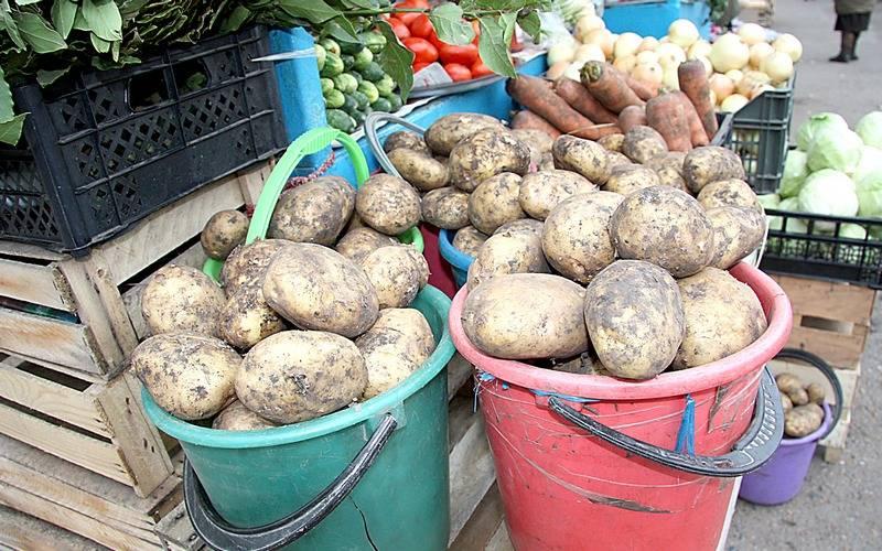За неделю вБрянской области картофель подорожал на6,3 процента, морковь — на4,3